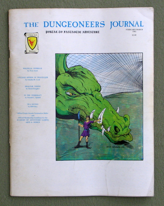 Image for The Dungeoneer Journal, Issue 25 (Feb/March 1981)