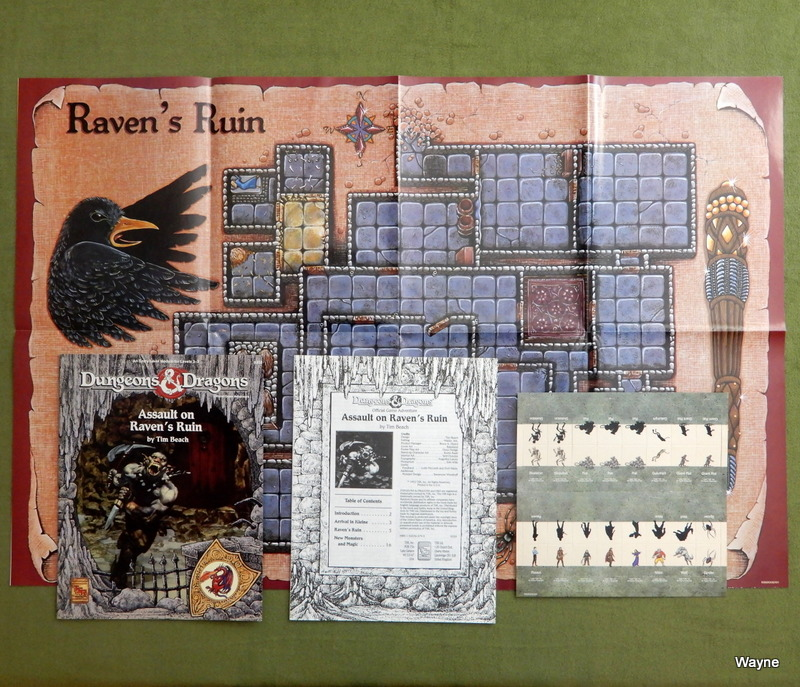 Image for Assault on Raven's Ruin (Dungeons & Dragons)