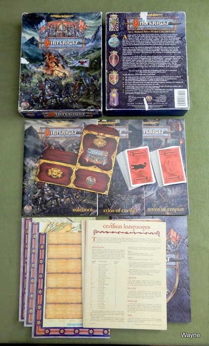 Image for Birthright Campaign Setting (Advanced Dungeons & Dragons) - PLAY SET