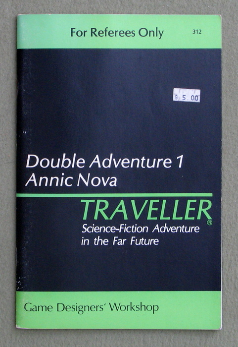 Image for Traveller Double Adventure 1: Shadows / Annic Nova
