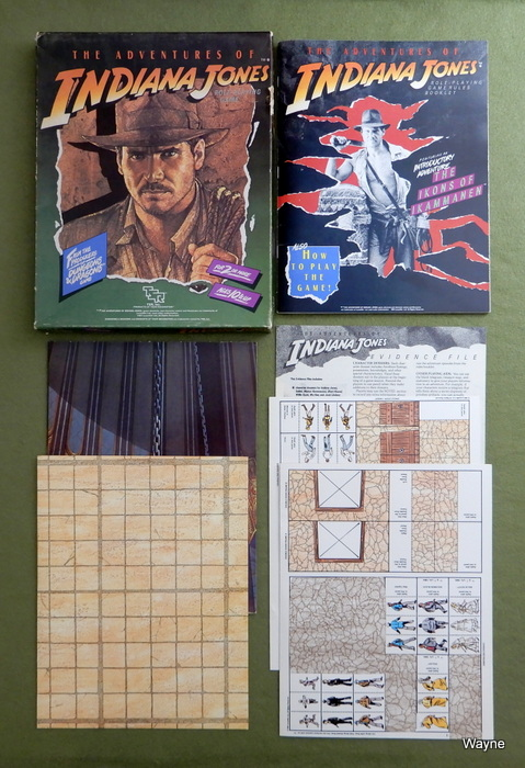Image for Adventures of Indiana Jones RPG - PLAY SET