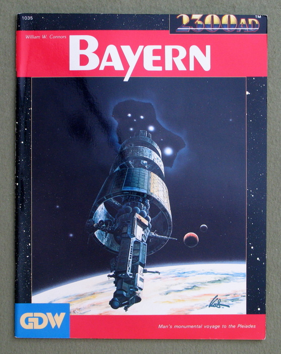 Image for Bayern (2300AD role playing game)