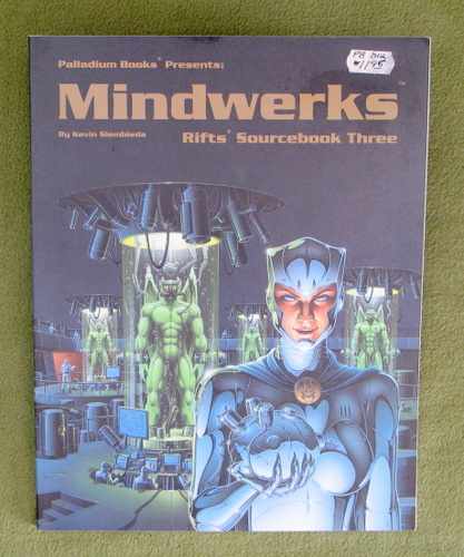 Image for Rifts Sourcebook 3: Mindwerks