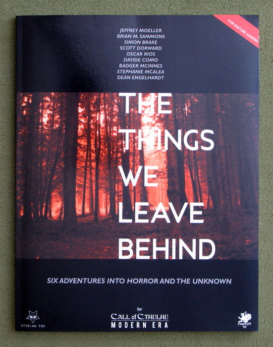 Image for The Things We Leave Behind (Call of Cthulhu)
