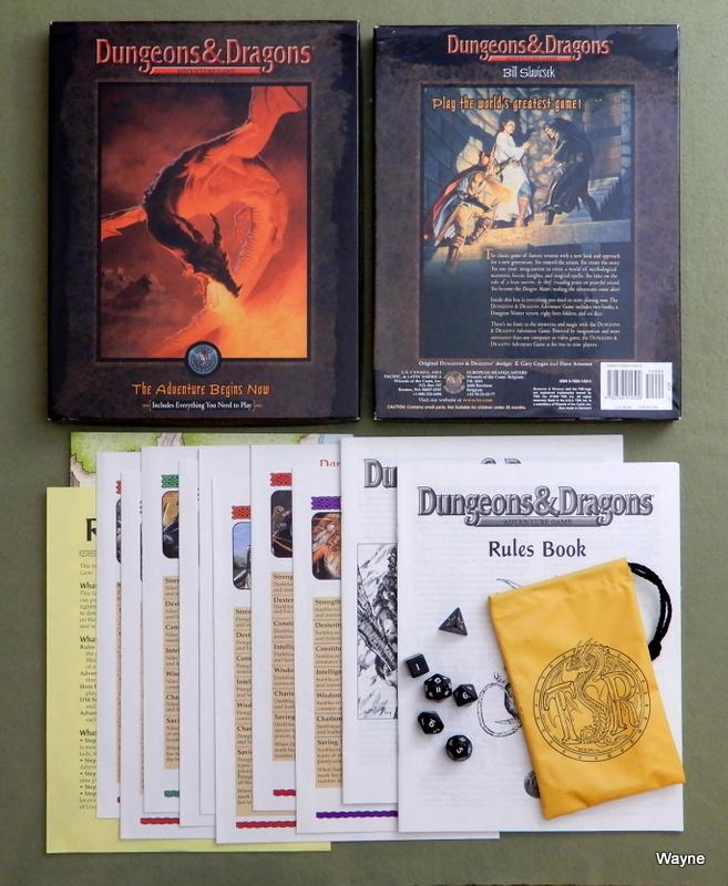 Image for Dungeons & Dragons Adventure Game: The Adventure Begins Now : Everything You Need to Play