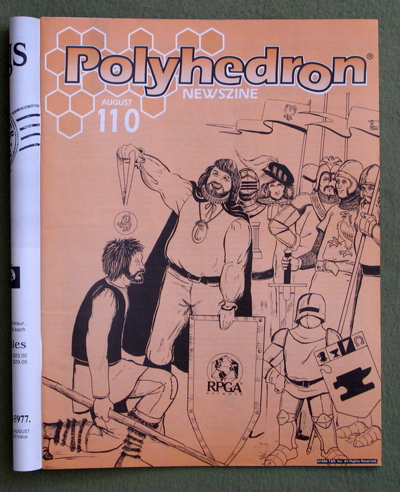Image for Polyhedron Magazine, Issue 110