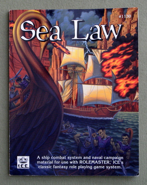 Image for Sea Law: Ship Combat System and Naval Campaign Material for Rolemaster - BOOK ONLY