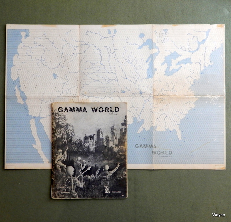 Image for Gamma World: Science Fantasy Role-Playing Game (1st Edition Rulebook) - PLAY COPY