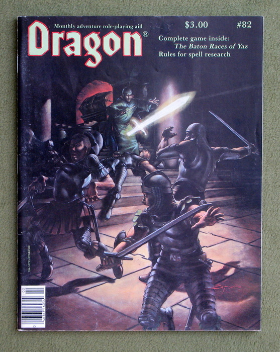 Image for Dragon Magazine, Issue 82
