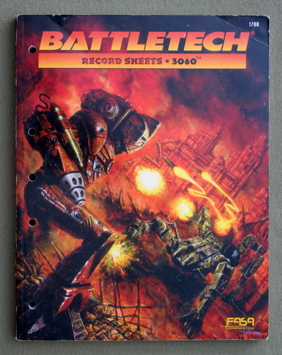 Image for Battletech: Record Sheets 3060