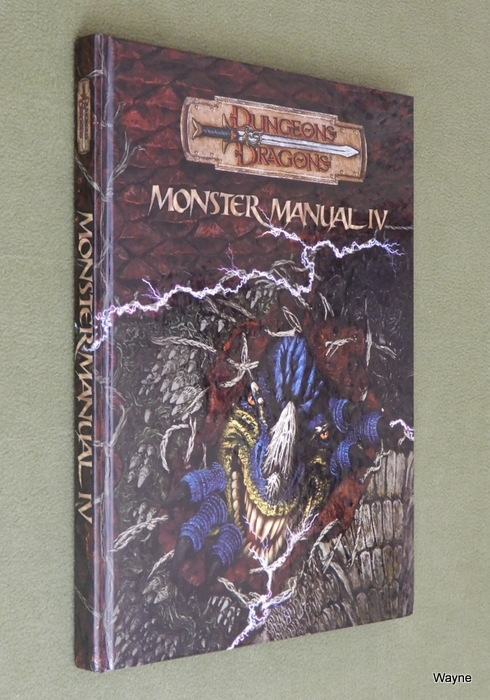 Image for Monster Manual IV (Dungeons & Dragons d20 3.5 Fantasy Roleplaying)