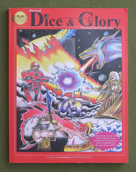Image for Dice & Glory: Role Playing Game (Revised Edition)