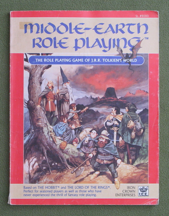 Image for Middle Earth Role Playing, 1st Edition Revised (MERP) - PLAY COPY