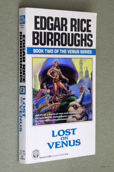 Image for Lost on Venus (Venus Series, No 2)