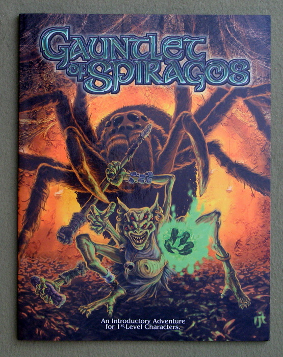 Image for Gauntlet of Spiragos (Scarred Lands 5e)
