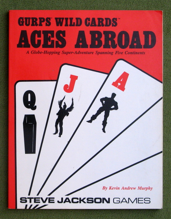 Image for Aces Abroad (GURPS Wild Cards RPG)