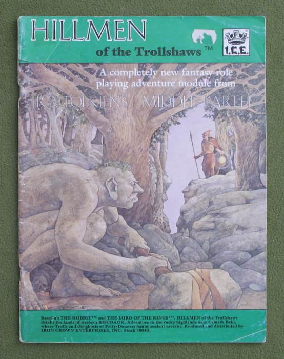 Image for Hillmen of the Trollshaws (Middle Earth Role Playing/MERP) - PLAY COPY