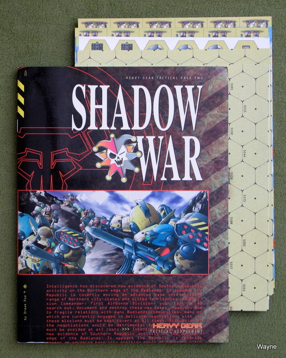 Image for Shadow War: Tactical Pack 2 (Heavy Gear)