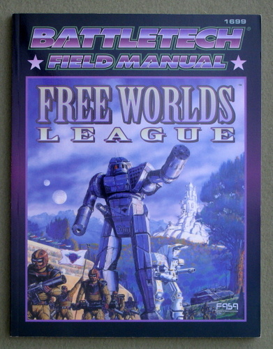 Image for Field Manual: Free Worlds League (Classic Battletech)
