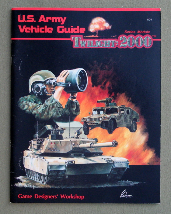 Image for U.S. Army Vehicle Guide (Twilight : 2000)