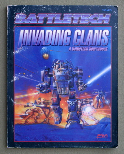 Image for Invading Clans: A Battletech Sourcebook - PLAY COPY