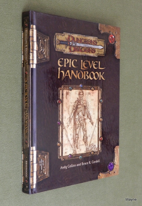 Image for Epic Level Handbook (Dungeon & Dragons d20 3.0 Fantasy Roleplaying)