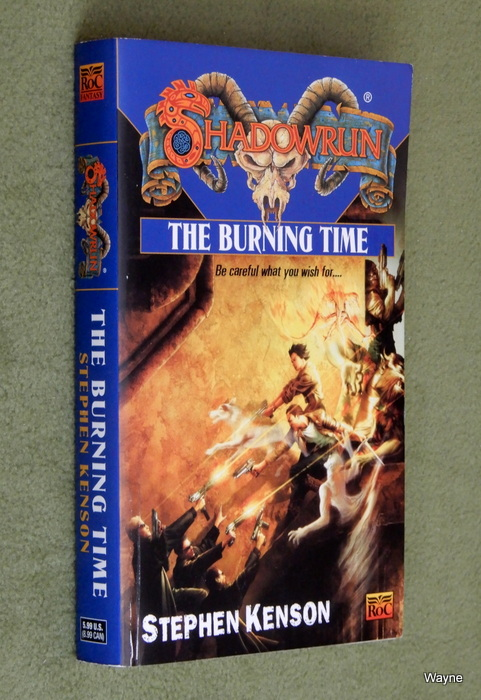 Image for The Burning Time (Shadowrun novel)