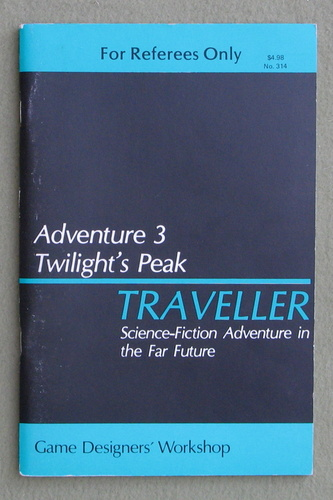 Image for Traveller Adventure 3: Twilight's Peak - 1ST PRINT