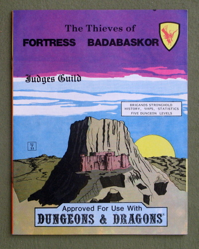 Image for The Thieves of Fortress Badabaskor (Dungeons & Dragons)