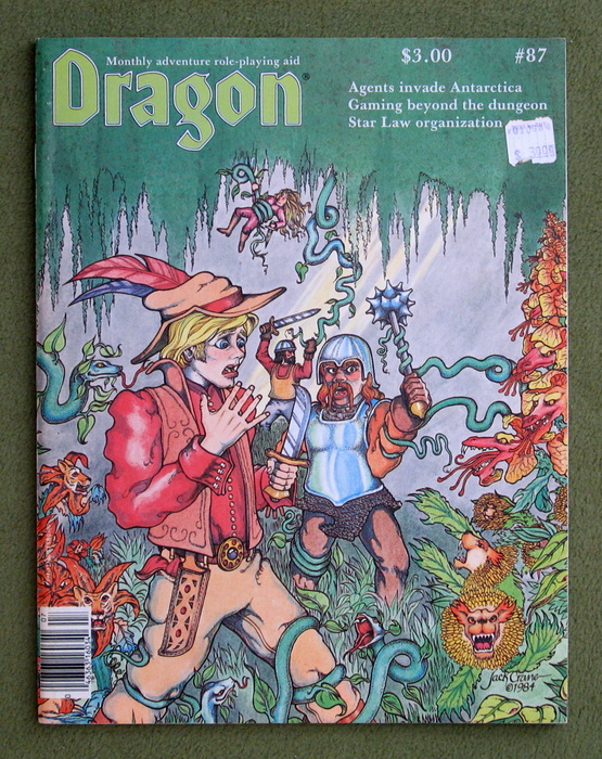 Image for Dragon Magazine, Issue 87