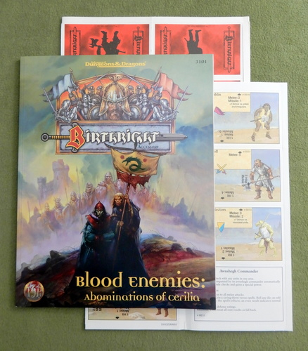 Image for Blood Enemies: Abominations of Cerilia (Advanced Dungeons & Dragons / Birthright)