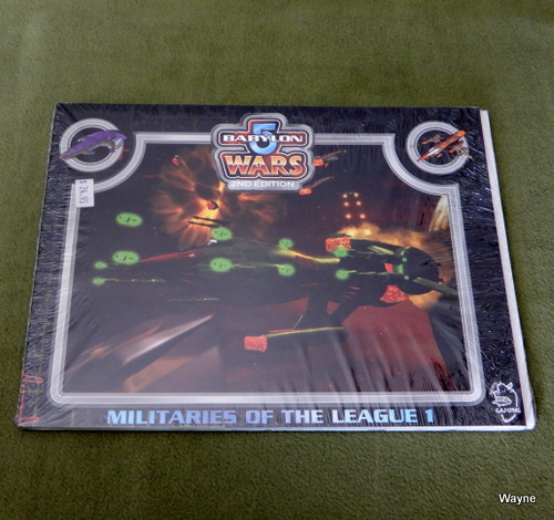 Image for Militaries of the League 1 (Babylon 5 Wars, 2nd Edition)
