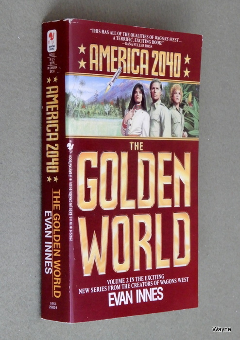 Image for The Golden World (America 2040, Book 2)