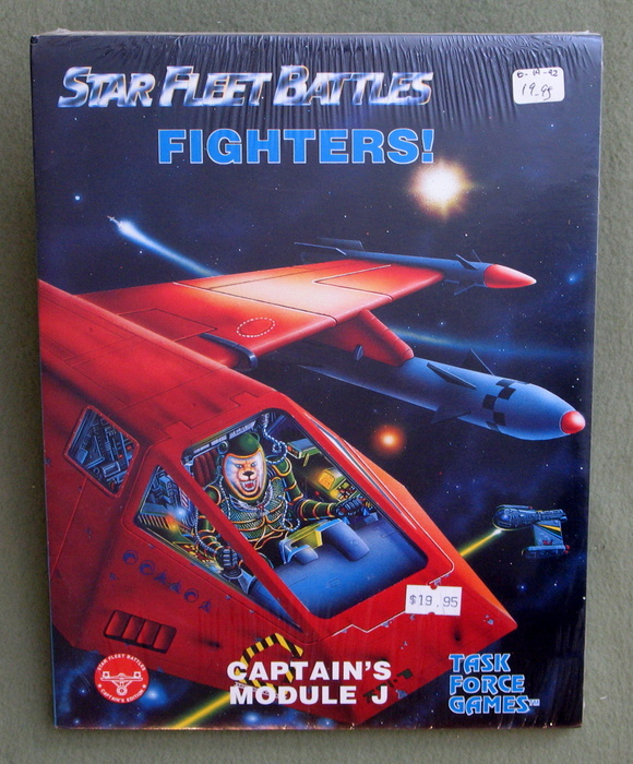 Image for Fighters! Captain's Module J (Star Fleet Battles)