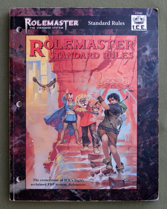 Image for Rolemaster Standard Rules - PLAY COPY