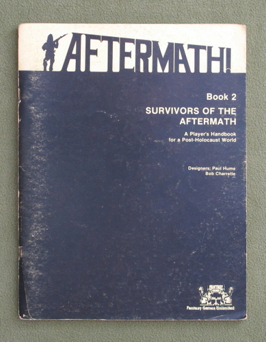 Image for Aftermath, Book 2: Survivors of the Aftermath - PLAY COPY