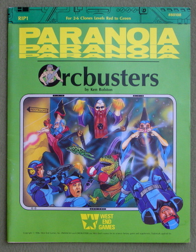 Image for Orcbusters (Paranoia)