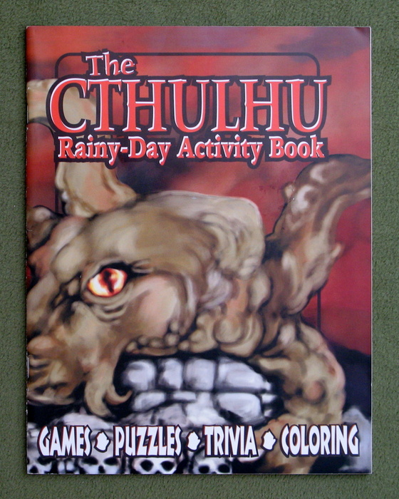 Image for Cthulhu Rainy Day Fun Activity Book