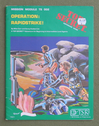 Image for Operation Rapidstrike! (Top Secret RPG Module TS002)