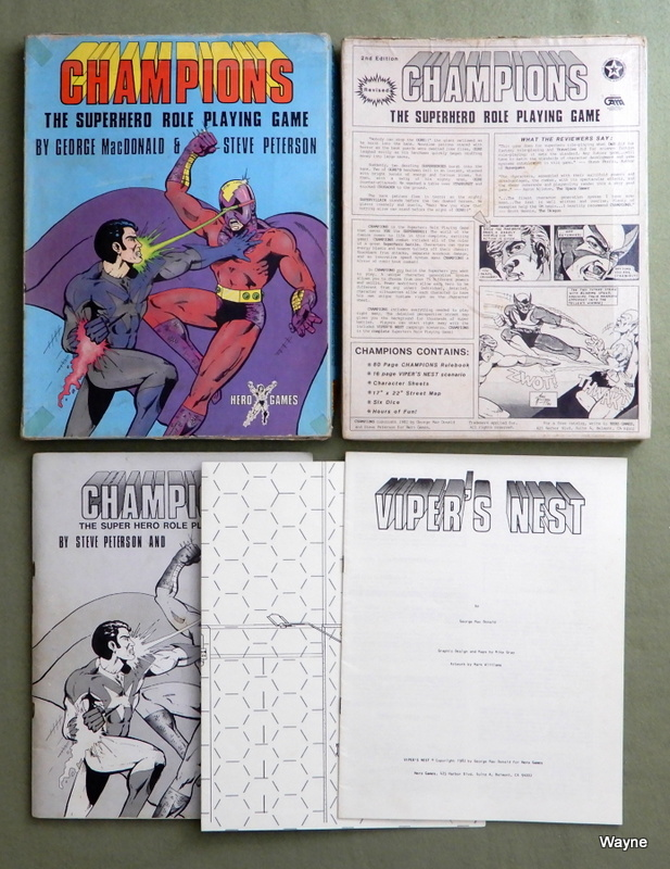 Image for Champions: The Super Hero Role Playing Game (Revised Edition) - PLAY SET