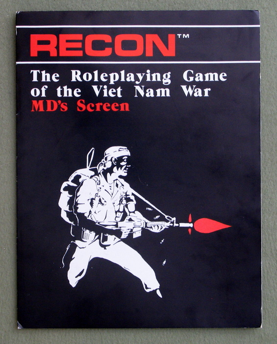 Image for MD's Screen (Recon: The Roleplaying Game of the Viet Nam War)