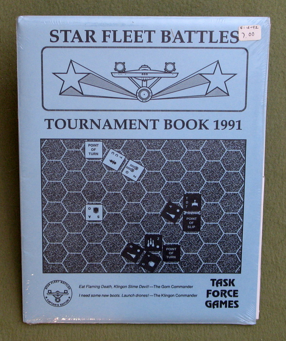 Image for Tournament Book 1991 (Star Fleet Battles)