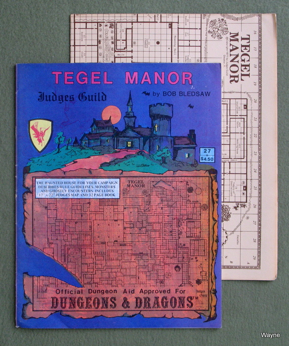 Image for Tegel Manor (4th printing)