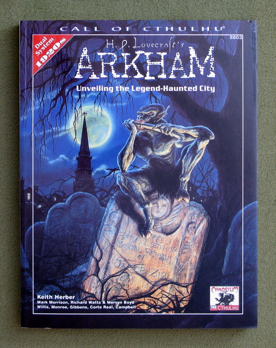 Image for H.P. Lovecraft's Arkham: Unveiling the Legend-Haunted City (Call of Cthulhu Roleplaying)