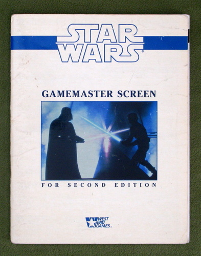 Image for Star Wars: Gamemaster Screen for Second Edition - PLAY COPY