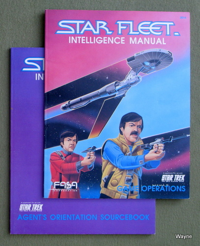 Image for Star Fleet Intelligence Manual (Agent's Orientation / Game Operations) [2 BOOK SET]
