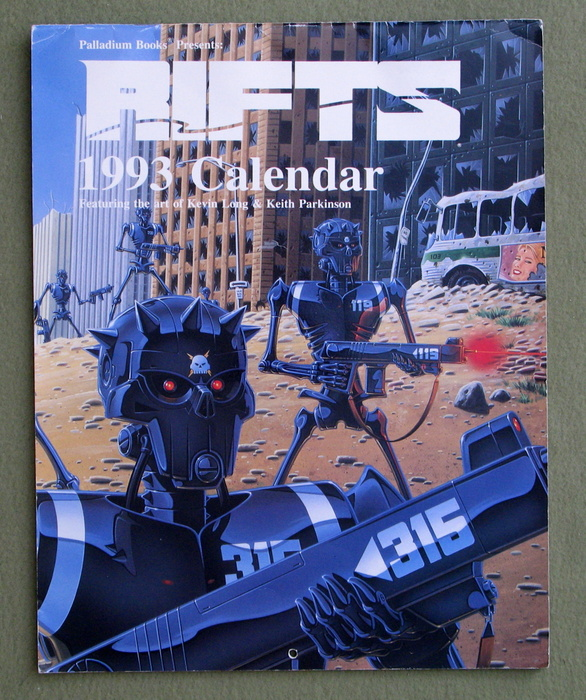Image for Rifts 1993 Calendar