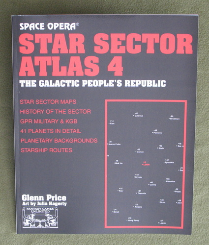 Image for Star Sector Atlas 4: The Galactic People's Republic (Space Opera RPG)