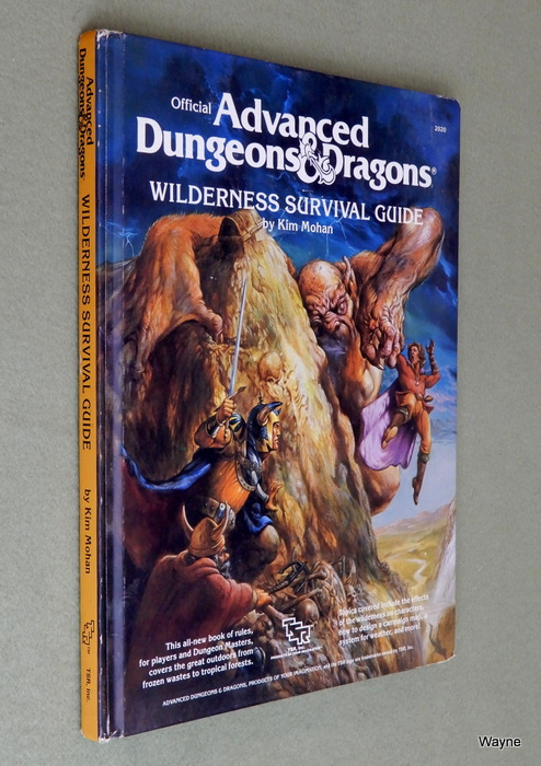 Image for Wilderness Survival Guide (Advanced Dungeons and Dragons)