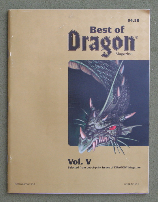 Image for Best of Dragon Magazine, Vol. V